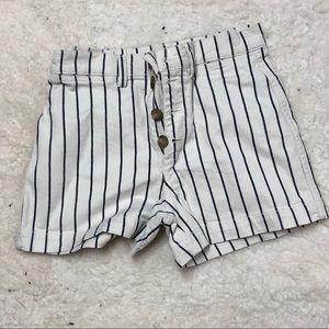 Madewell striped shorts size 25 unworn!